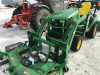 John Deere 1025R Compact Tractor and Loader Brandon Brandon Area Preview