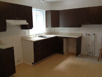Reno'd Street Level 3 1/2 with Big Kitchen & Parking Space