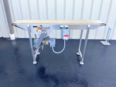 Kleenline 12 Wide X 6 Long Stainless Steel Conveyor