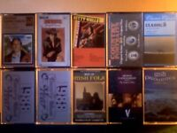 GEORGE HAMILTON, JIM REEVES, KITTY WELLS, COUNTRY COMPILATIONS & VARIOUS IRISH SONGS CASSETTE TAPES