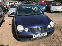 2003 Volkswagen Polo 1.4 AUTOMATIC, LOW MILEAGE, CHEAP INSURANCE, 07506507253