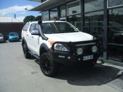 2014 Mazda BT-50 UP0YF1 XTR White 6 Speed Sports Automatic Utility Devonport Devonport Area Preview