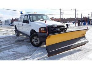 2005 Ford Super Duty F-350 XL 4X4, 6 PASSANGER, PLOWING VEHICLE