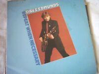 Vinyl LP Dave Edmunds Repeat When Necessary
