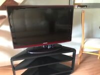 Samsung 37 inch LE37A656A1F TV with stand