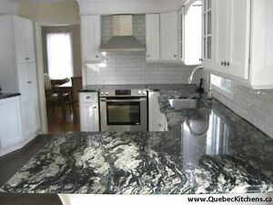 Wood Vanities On Sale With Granite Countertops @ QuebecKitchens West Island Greater Montréal image 5