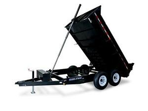 SD 6X12 Low Profile 10K Dump Trailer