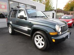 2006 JEEP LIBERTY LIMITED * 4X4 * CLEAN CAR PROOF * LOADED !!!