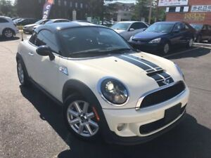 2012 MINI Cooper Coupe S-Low Kms