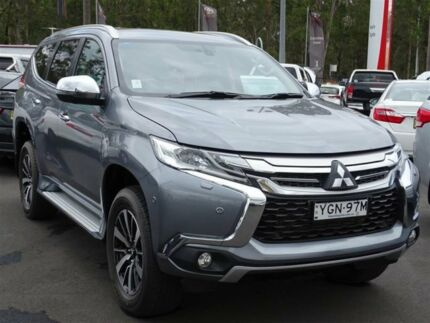 2017 Mitsubishi Pajero Sport MY17 Exceed (4x4) 7 Seat Grey 8 Speed Automatic Wagon South Nowra Nowra-Bomaderry Preview