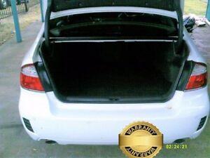 2009 Subaru Liberty Auto 5sp AWD 2.5T White Automatic Sedan