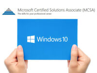Free Funded MCSA: Windows 10: Microsoft Certified Solutions Associate