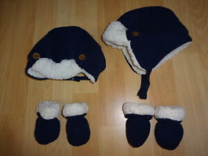 Winter hats and mitts