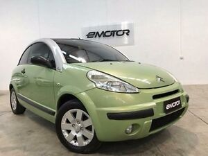 2005 Citroen C3 Pluriel Green 5 Speed Sports Automatic Single Clutch Convertible Williamstown North Hobsons Bay Area Preview