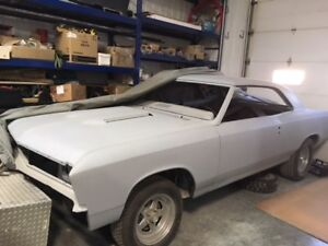 1967 Chevelle  2 Dr Hard top  Project car