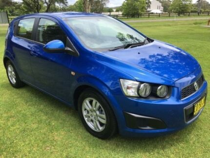 2013 Holden Barina TM MY13 CD Blue 6 Speed Automatic Hatchback Tuggerah Wyong Area Preview