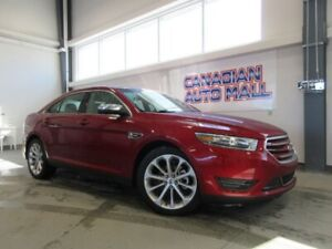 2018 Ford Taurus LIMITED AWD, NAV, ROOF, LEATHER, 18K!