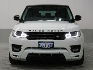 2015 Land Rover Range Rover LW MY15 Sport 3.0 TDV6 SE White 8 Speed Automatic Wagon Jandakot Cockburn Area Preview