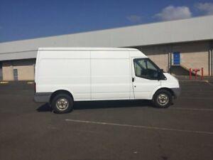 2006 Ford Transit VM Van Mid Roof MWB 4dr Man 6sp 2.4DT White Manual Van