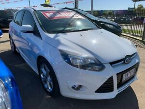 2014 Ford Focus LW MKII MY14 Sport White 5 Speed Manual Hatchback