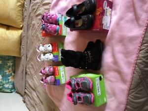 GIRLS SHOES NIB, SIZE 7 - 9  $100.00 FOR ALL