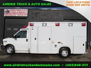 2008 Chevrolet Express G3500 Commercial Ambulance!!