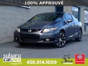 2013 Honda Civic Cpe Si CAMERA DE RECULE, TOIT OUVRANT, BLUETOOT