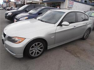 2006 BMW 325i Silver Auto Leather Sunroof Only 110,000km