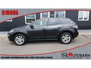 2012 MAZDA CX-7 - CRUISE - BLUETOOTH - HEATED LEATHER - MOONROOF