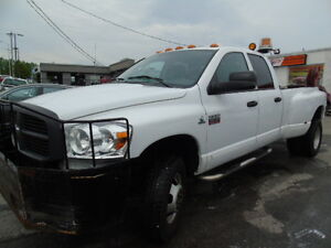 2009 Dodge Ram 3500 4X4 Diesel Tire Service Truck with,Compresso