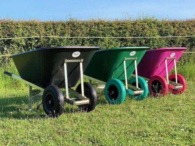 Bristol Mucker Garden Wheelbarrow Colour Green
