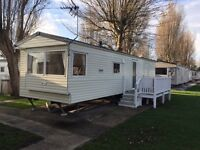 cheap 3 bed caravan on Talacre Beach in north wales