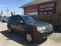 2007 Hyundai Tucson GLS***LEATHER***SUNROOF***ONLY 109 KMS