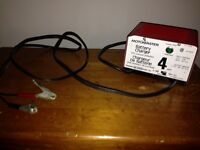 Battery Charger - 4 amps for 6/12 volt batteries
