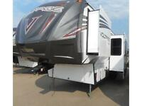 2016 VOLTAGE V - SERIES TOY HAULER - 3305 PRICE REDUCED!!!
