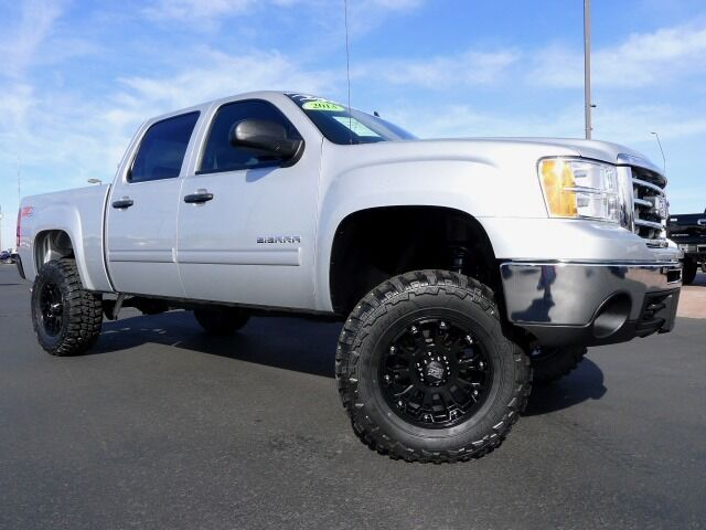 2013 gmc sierra 1500 lt z71 crew cab 4x4 used custom lifted truck for sale nice used gmc. Black Bedroom Furniture Sets. Home Design Ideas