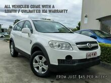 2008 Holden Captiva CG MY09 SX (4x4) White 5 Speed Automatic Wagon Brendale Pine Rivers Area Preview