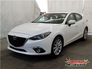 Mazda Mazda3 GT-SKY GPS Cuir Toit Ouvrant MAGS 2014