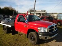 2007 Dodge Ram 3500 Dually Diesel  4x4 Flatbed