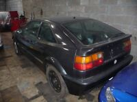 Vw Corrado SPARES only, all parts available