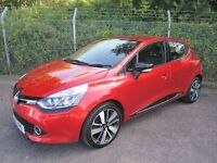 Renault Clio 1.5 Dynamique S MediaNav DCi 90 5DR TURBO DIESEL (flame red) 2015