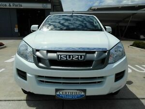 2014 Isuzu D-MAX MY14 SX Crew Cab White 5 Speed Manual Utility Yamanto Ipswich City Preview