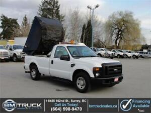 2009 FORD F-350 SUPER DUTY XL REGULAR CAB LONG BOX w/ DUMP BOX