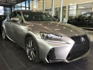 2017 Lexus IS 350 F SPORT SERIES 3, NAVI, AWD, ACCIDENT FREE