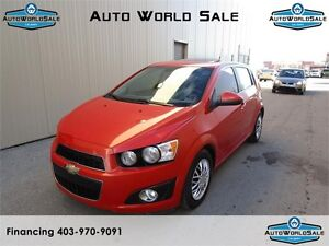 2012 CHEVROLET SONIC LT |SUNROOF-Bluetooth | low low km