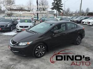 2013 Honda Civic Sdn EX | $57 Weekly $0 Down *OAC / Auto