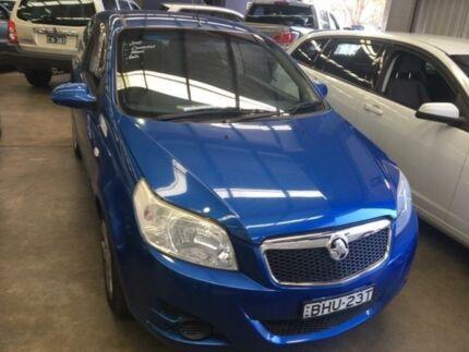 2008 Holden Barina TK Blue Manual Hatchback