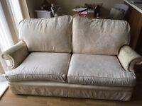 2 Seater Cream Sofa (Free)