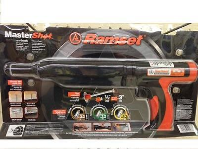 40088 ITW Ramset .22 Caliber Mastershot Powder Actuated Tool, Silencing Handle