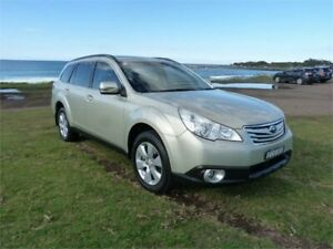 2009 Subaru Outback MY10 3.6R Premium Champagne 5 Speed Auto Elec Sportshift Wagon Fairy Meadow Wollongong Area Preview